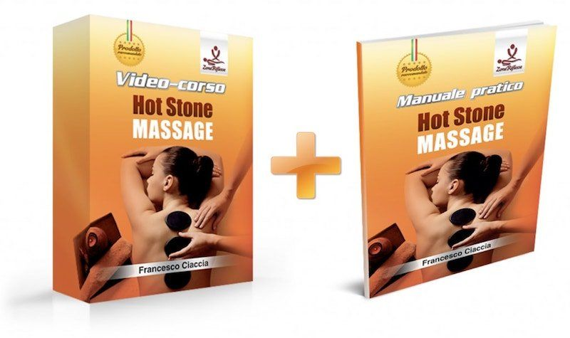video corso completo hot stone massage